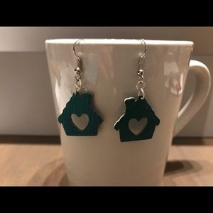 Faux Leather Earrings - various colors